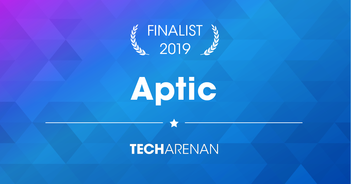 Aptic finalist in Techarenan 2019